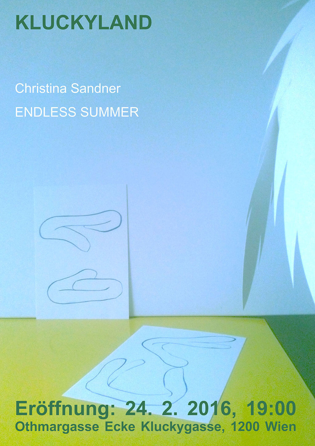 Poster Kluckyland: Christina Sandner: ENDLESS SUMMER