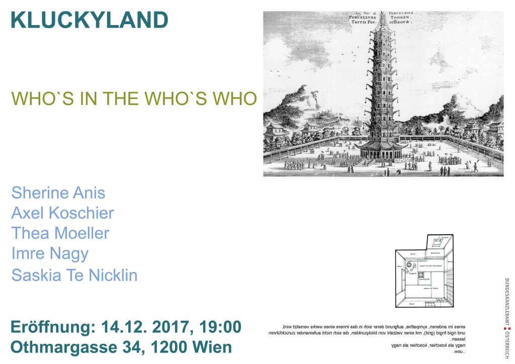 Poster Kluckyland: Whos In The Who's Who